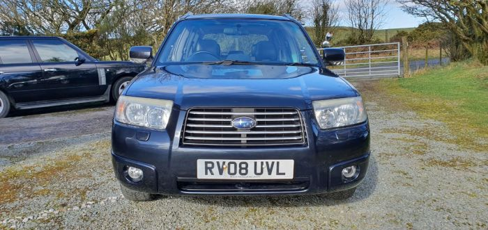 Subaru Forester 2.0 XEn Auto Sat Nav 1 Lady Dr Owner FSH Sat Nav Nov Mot New Cambelt Four Wheel Drive Petrol Metallic Graphite Grey